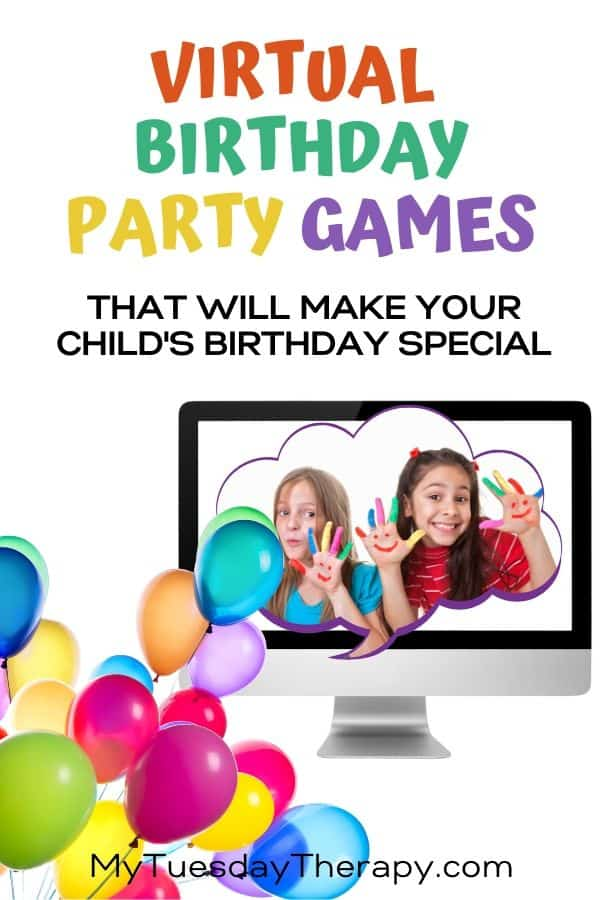 Virtual Birthday Party Ideas For Kids Special Time With Friends