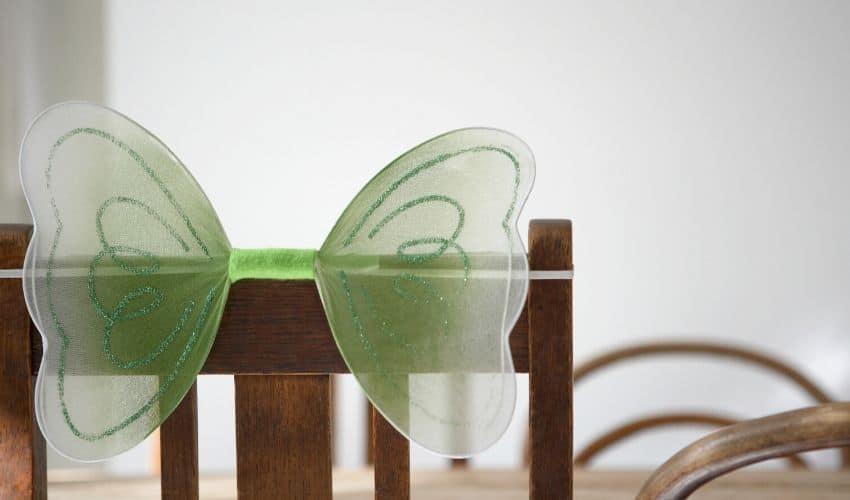 Easy butterfly decor idea for kids.