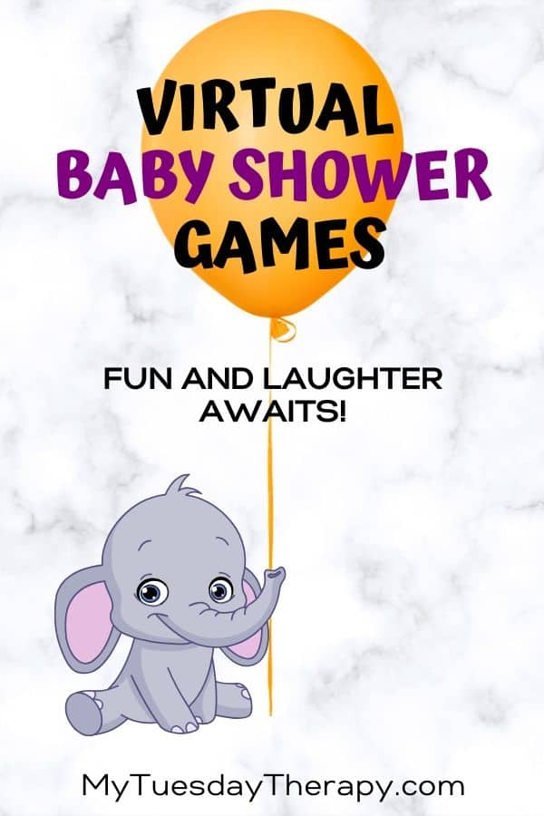 Virtual baby shower games.