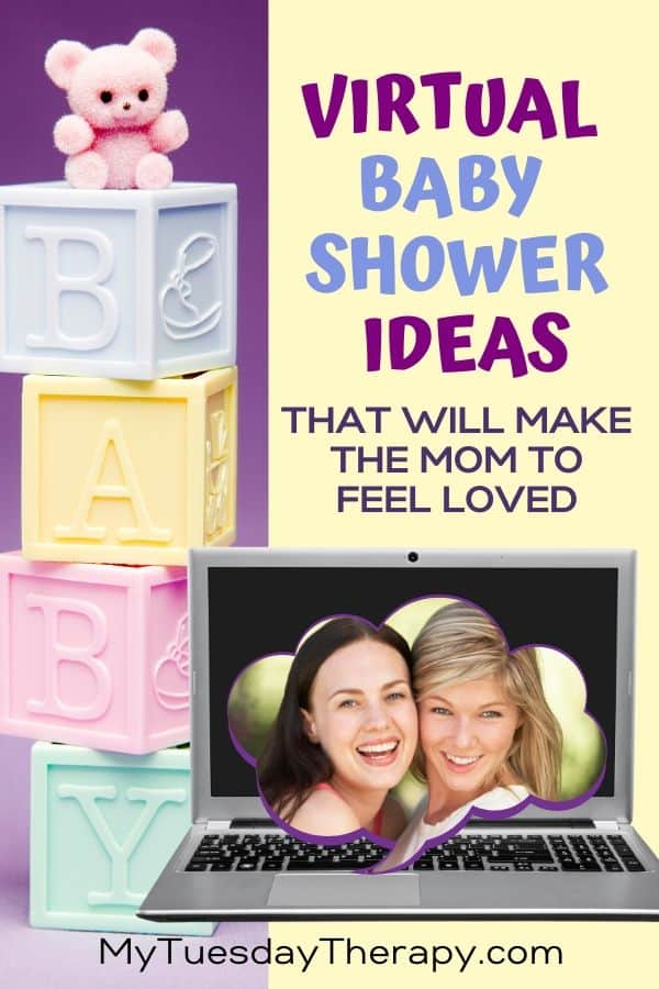 Virtual Baby Shower Ideas That Make the Mom to Be Feel Loved.