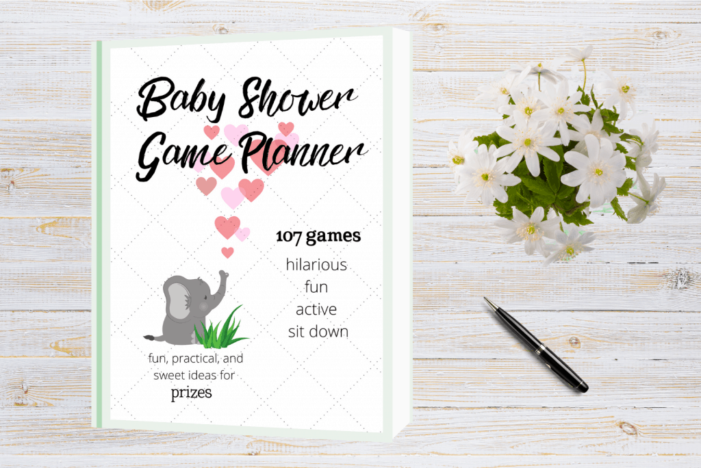 baby shower game ideas and planner. Baby shower ebook