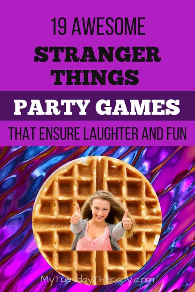 Stranger Things Party Games and Activities