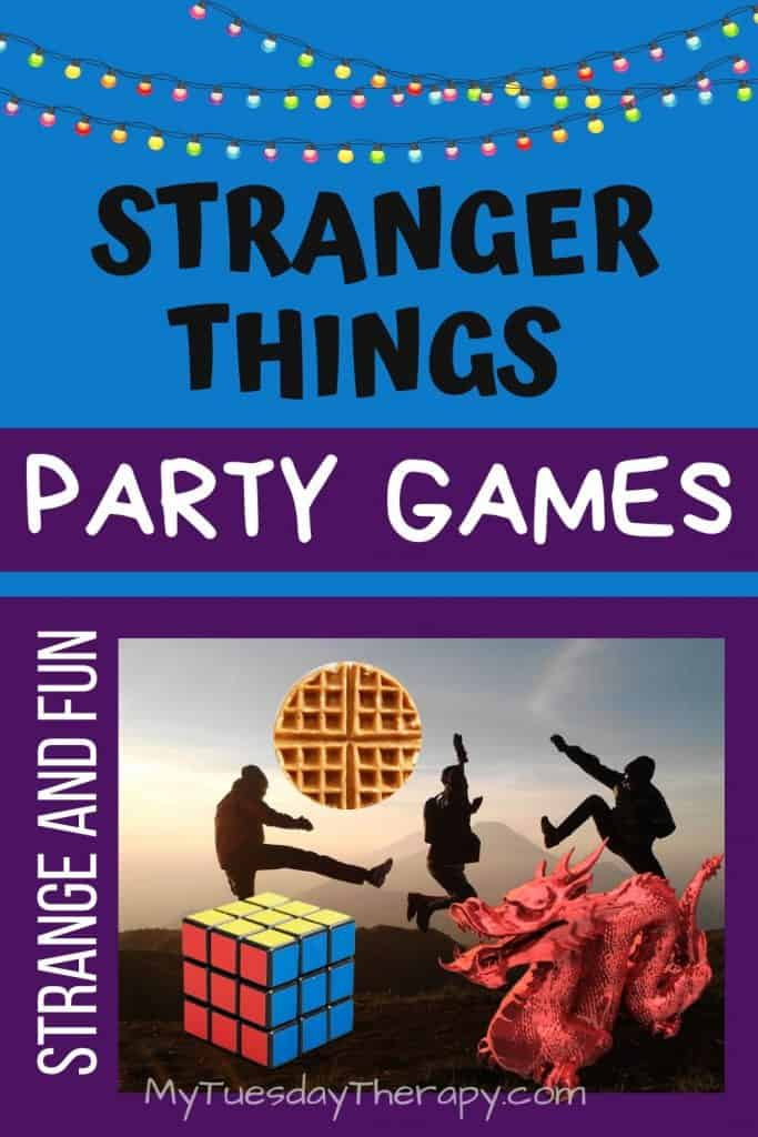 Stranger Things Party Games. Fun activities to entertain the guests.