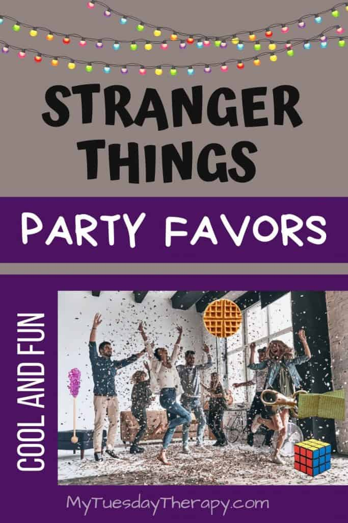 Stranger Things Party Favors. Cool things to give to your guests as favors or game prizes.