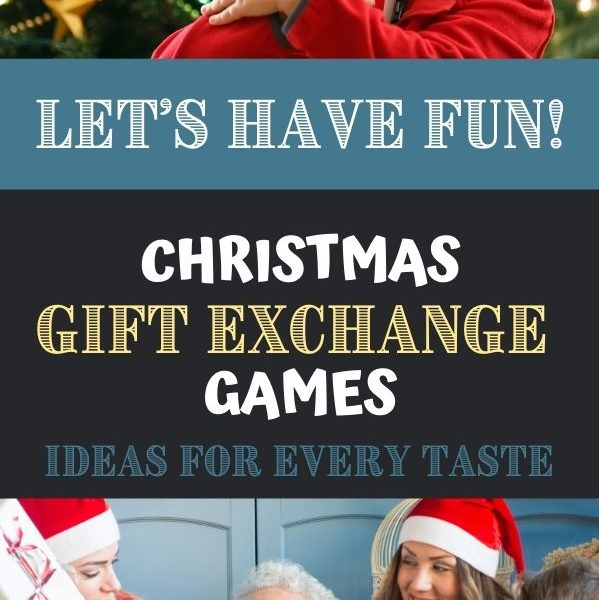 Christmas Gift Exchange Games for family and large groups.