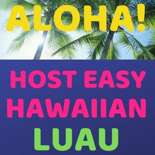 Hawaiian Luau Party Ideas. Summer fun with friends!