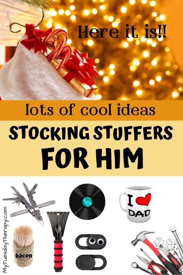 Stocking Stuffers for Men. White elephant gift ideas for men.