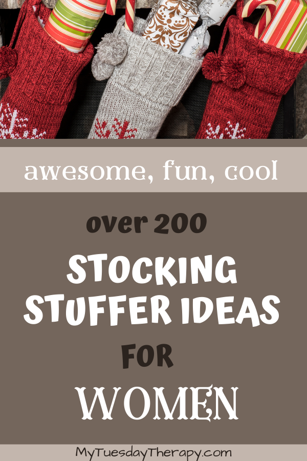 Awesome stocking stuffer ideas for women: unique, fun, awesome, romantic...