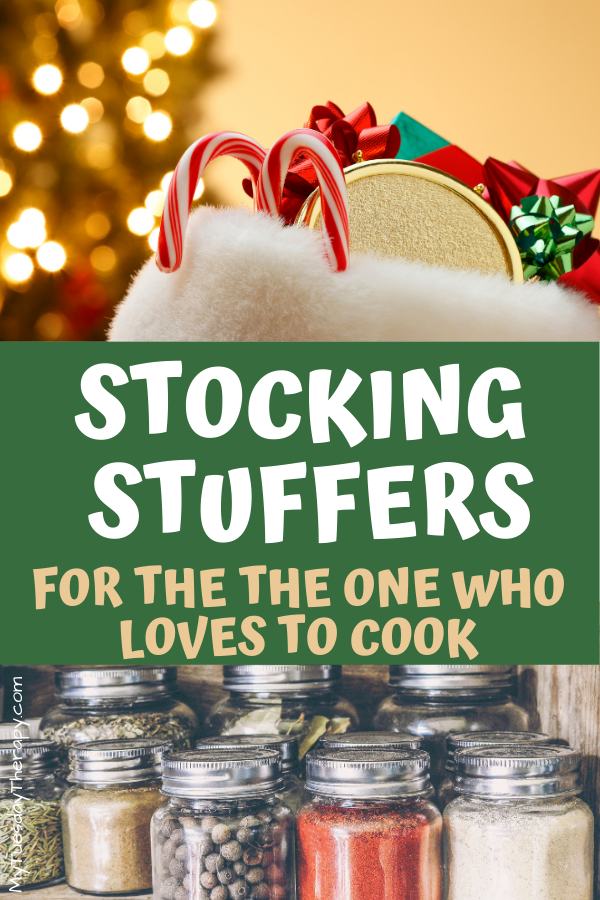 Stocking stuffers for women who loved to cook.