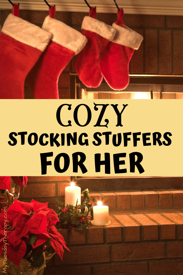 Cozy stocking stuffers for her.