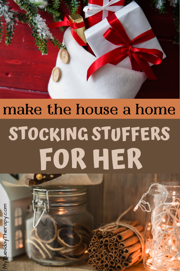 Stocking stuffers for women. Something pretty for the home.