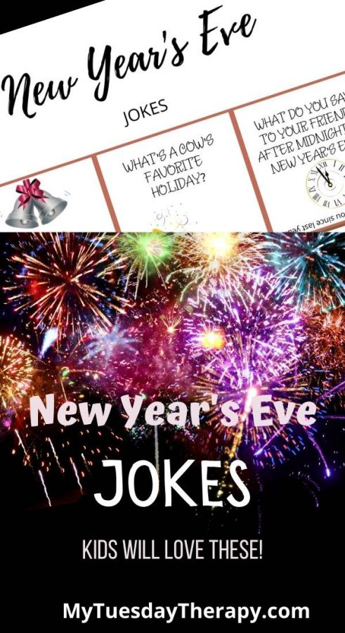 New Year's Eve Jokes and Riddles