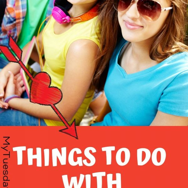 Things to do with your teen that make them feel loved (MyTuesdayTherapy.com) An image of three teenagers smiling.