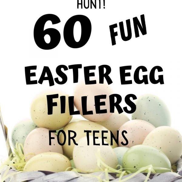 Fun Easter Egg Filler for Teens. Everybody loves Easter egg hunt!