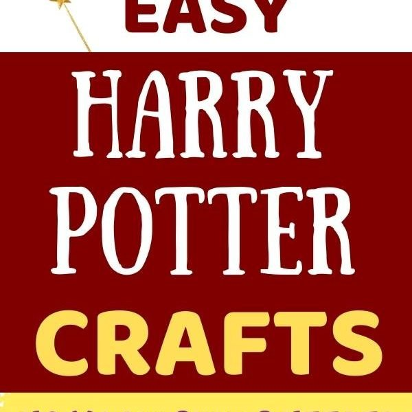 Easy Harry Potter crafts for teens, kids. No magic skills needed. Image of a magic wand.